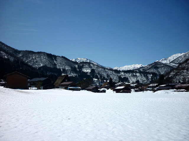 montagne giapponesi, shirakawa-go