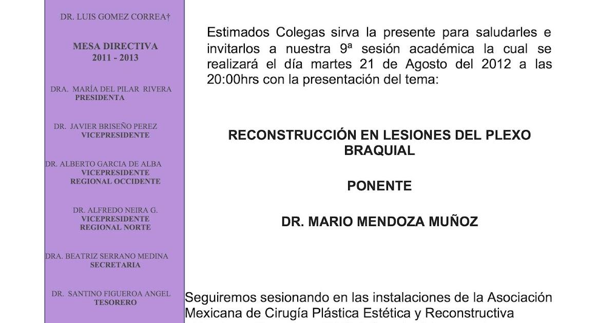 Colegio mexicano de ortopedia y traumatolog a sociedad for W de porter ortopedia