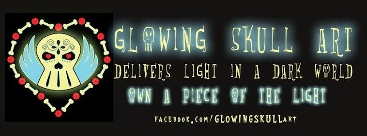 Glowing Skull Art & Designs By Denise Vasquez