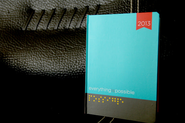 Everything is Possible 2013 Planner from Fully Booked