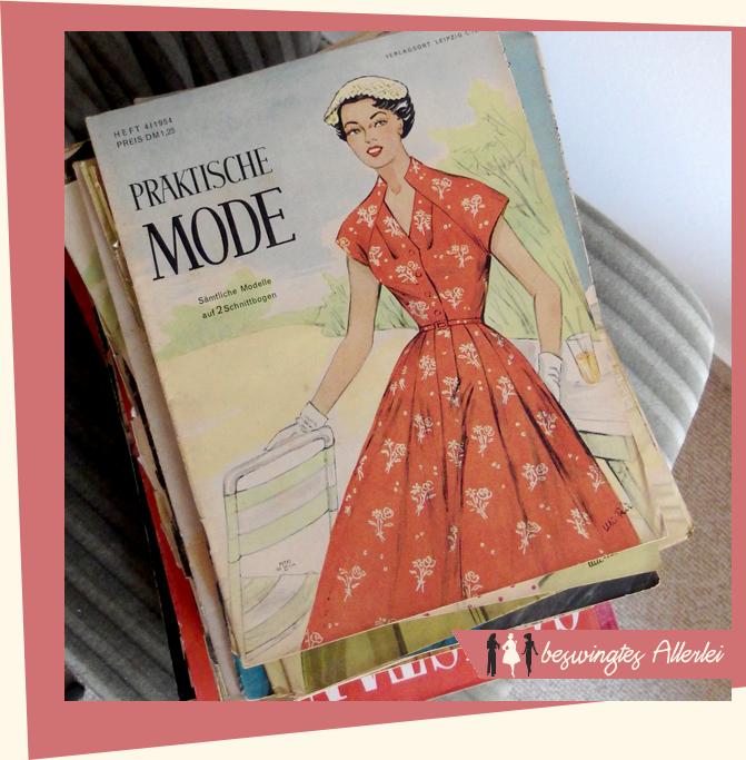 alte Zeitschriften, Modezeitschrift