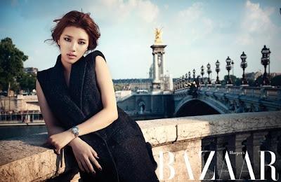 Suzy miss A Harper's Bazaar Magazine August 2013