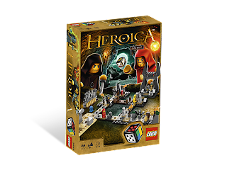 LEGO Heroica Caverns Nathuz Game
