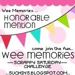 Wee Memories Honorable Mentions