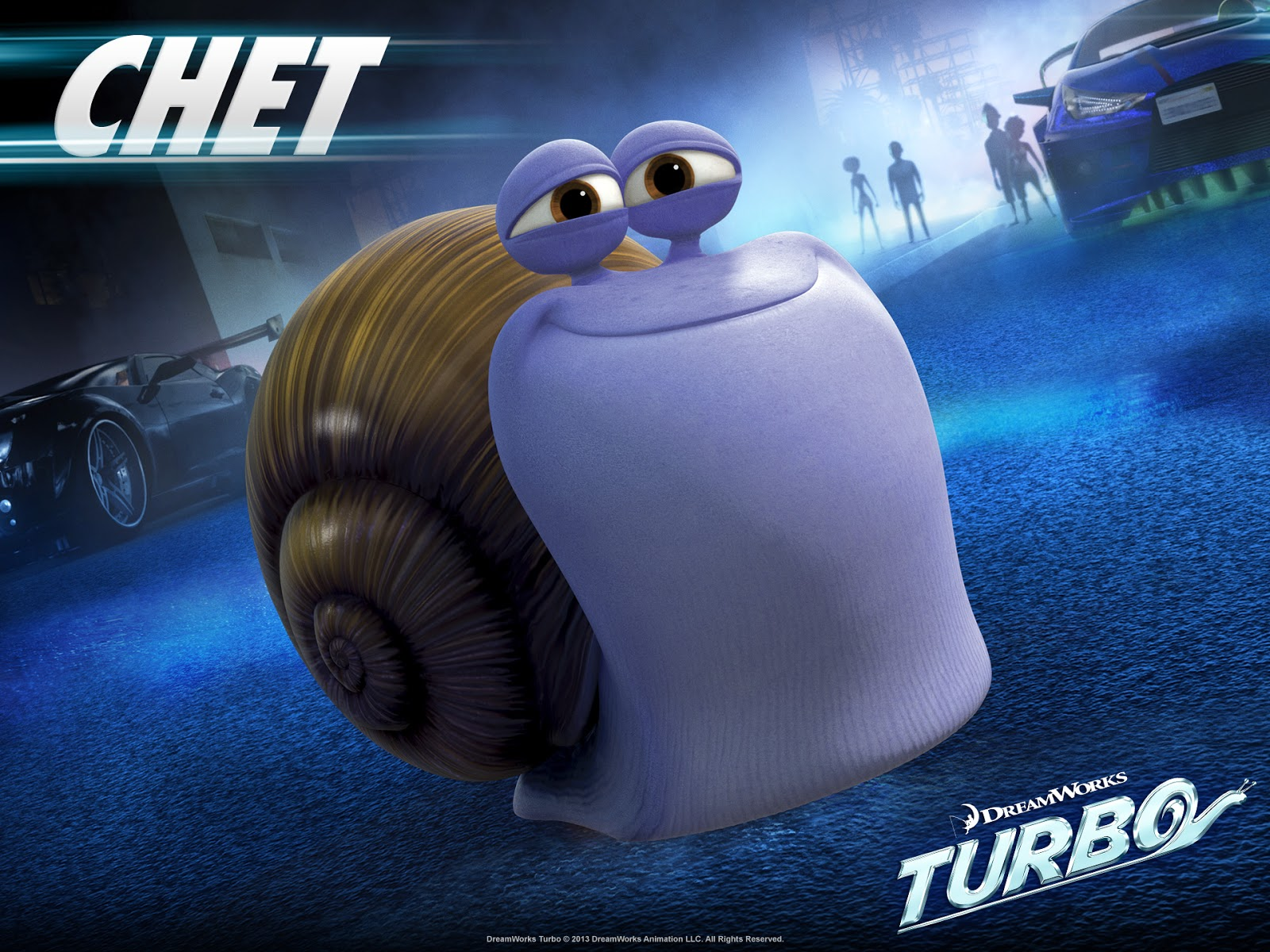 Turbo Movie 2013 Poster Turbo movie character burn