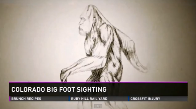 Colorado Bigfoot sighting