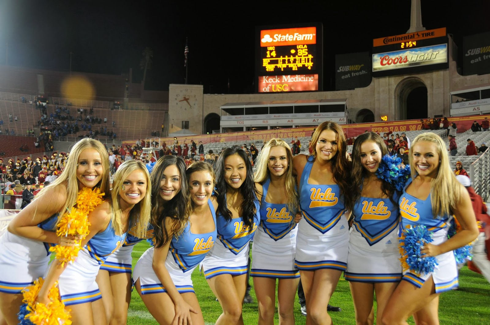 ultimate sports talk � sun bowl cheerleader preview