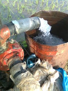 mesin pompa air untuk pertanian