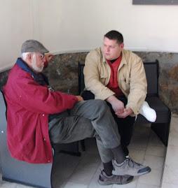 drd. Silviu-Constantin Ceauşu şi dr. Adrian Bătrâna, 4.XI.2011....