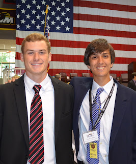 Montgomery Catholic's Dixon and LoBello Attend HOBY Leadership Conference 1