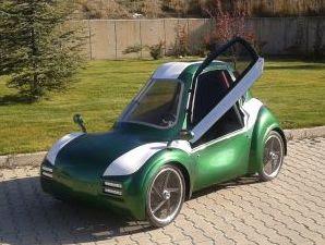 Elektrikli otomobil HuGo