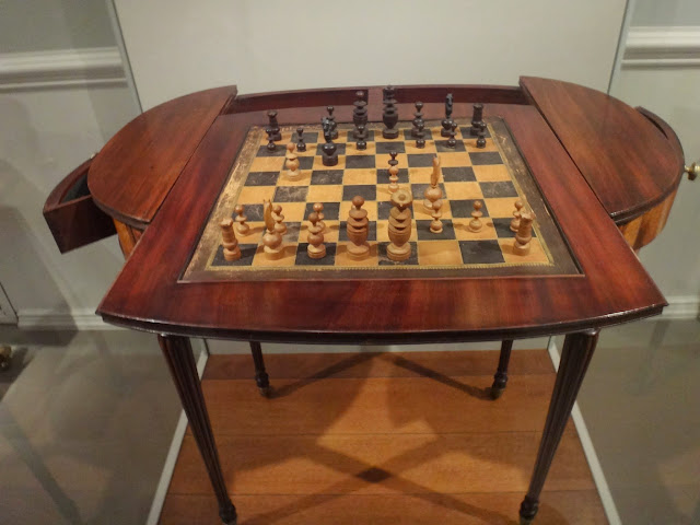 The Antique Chess Collection at National Gallery of Art in Washington DC, USA
