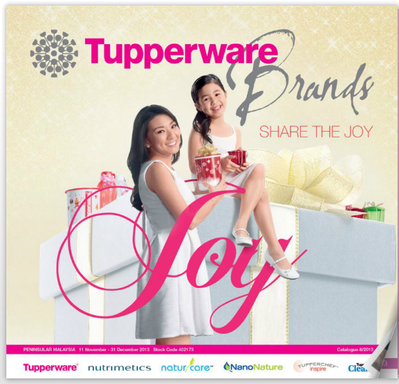 KATALOG TUPPERWARE 11 NOV - 31 DIS 2013