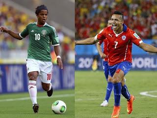Chile vs México, Copa América 2015