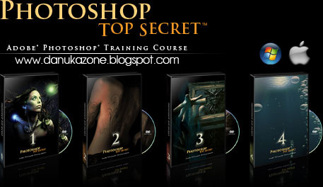 PhotoShop Top Secret FULL 5 DVD Set Free download
