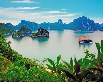 Barco en la isla