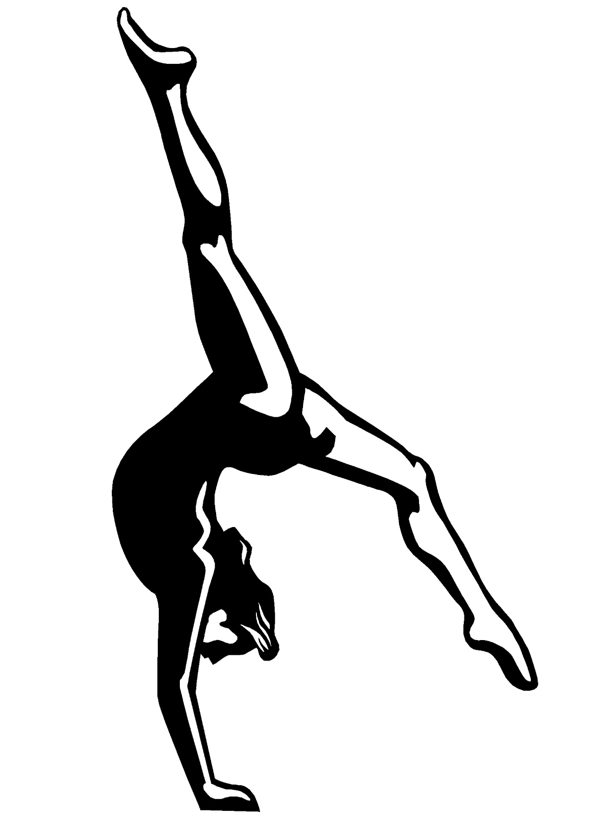 Gymnastics Coloring Sheets Free Coloring Pages Of Gymnast