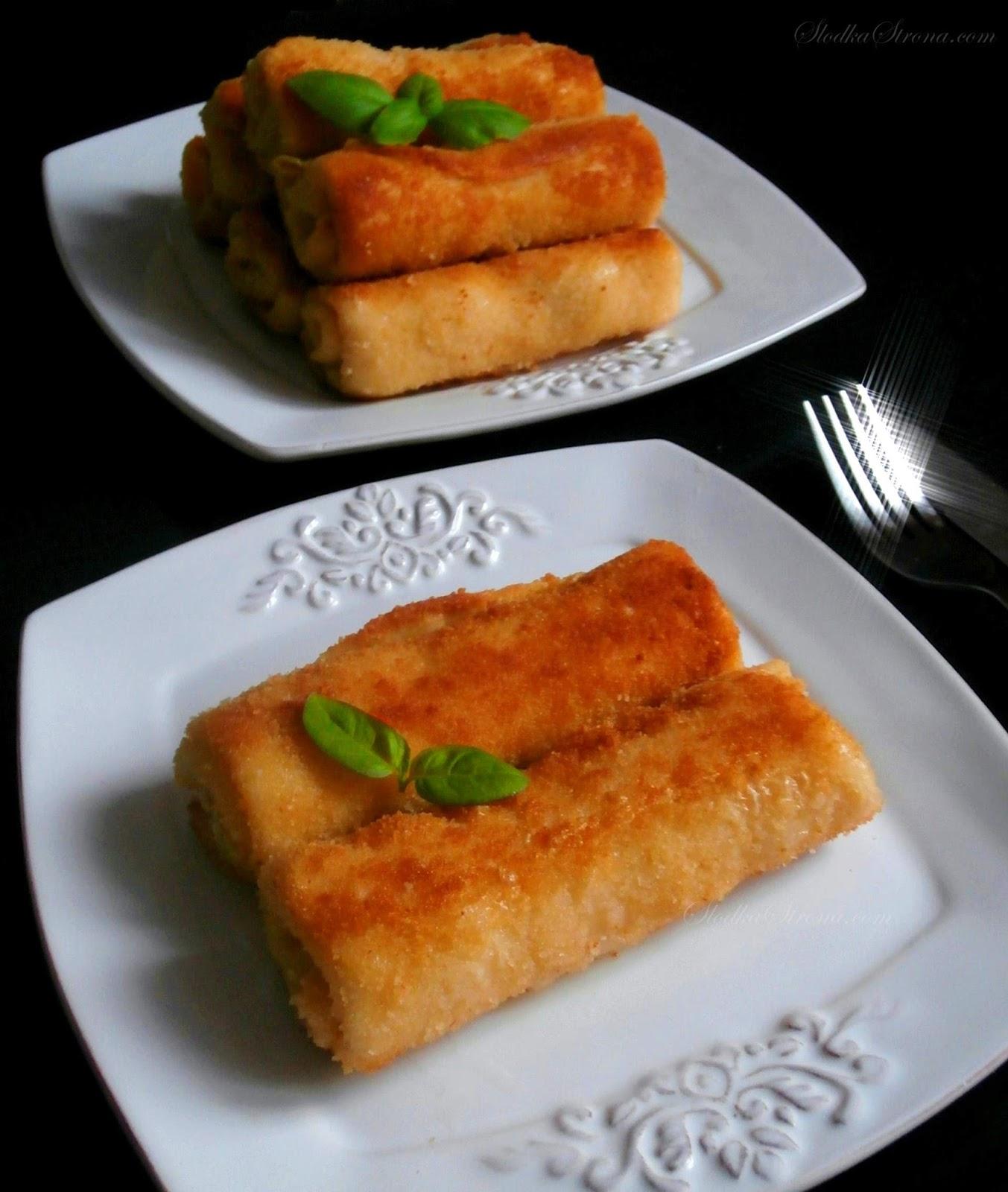 Krokiety z Ziemniakami i Twarogiem (czyli Farszem jak na Pierogi Ruskie)