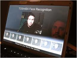 TOSHIBA Face Recognition Reconhecimento de face Toshiba