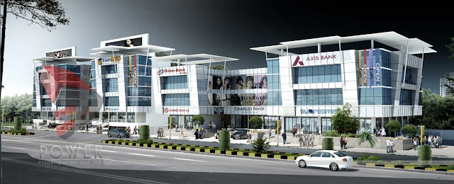 Architectural 3d Visualization Mall,3d architectural rendering,3d animation