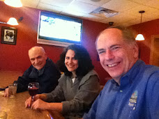 City Judge Catherine Palermo and Her Husband Bill Stop at Pete's