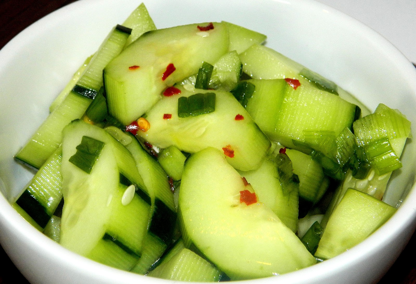 The Salty Kitchen: Thai Cucumber Salad