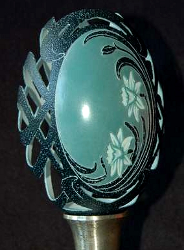 brian baity egg carving