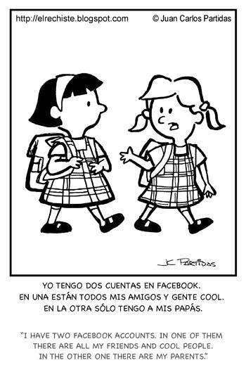 caricatura facebook