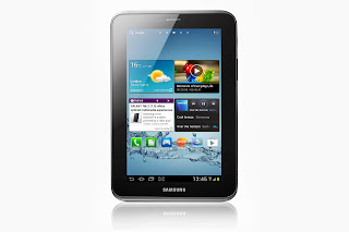 Samsung Galaxy Tab 2 7.0 front view