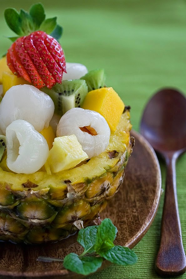 make a tropical fruit salad, try combining any of these canned fruits ...