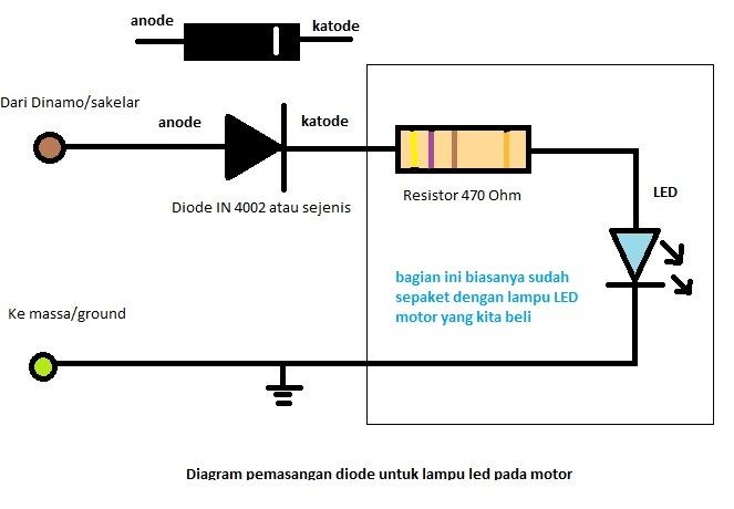 Akashiro S Blog Tips Agar Lampu Led Motor Tidak Cepat Rusak