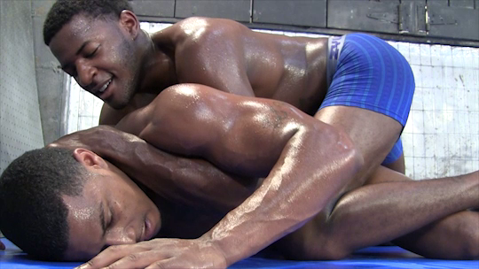 from Skylar black gay video wrestling