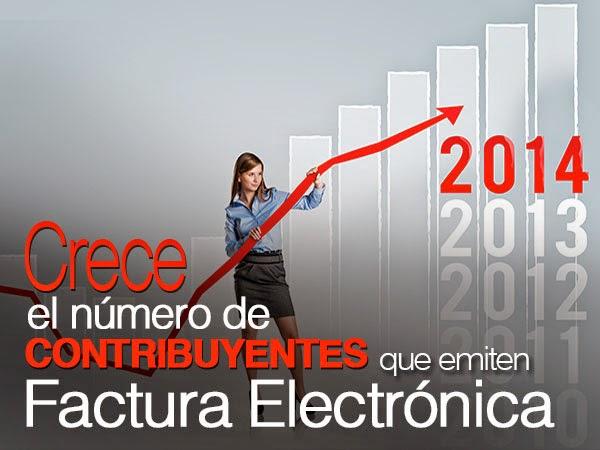 Crece el número de contribuyentes que emite factura electronica