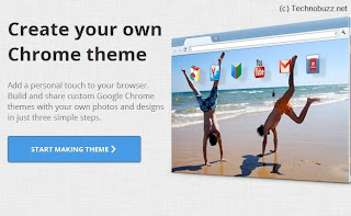 Create Custom Google Chrome themes