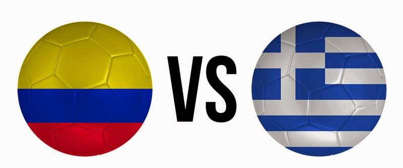 Colombia 3 - 0 Grecia. Grupo C. Jornada 1