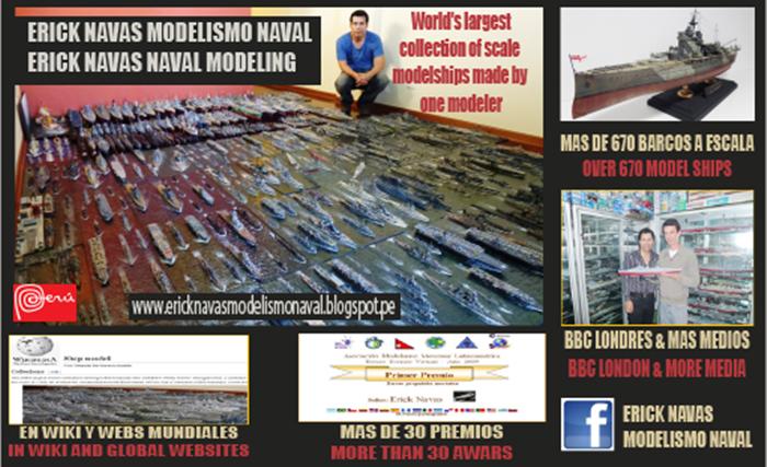 La colección más grande del mundo de barcos a escala hechas por un mismo modelista