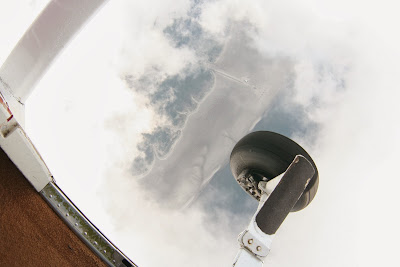 St. Peter-Ording: Fotos eines Tandem-Fallschirmabsprunges über dem ordinger Strand 11