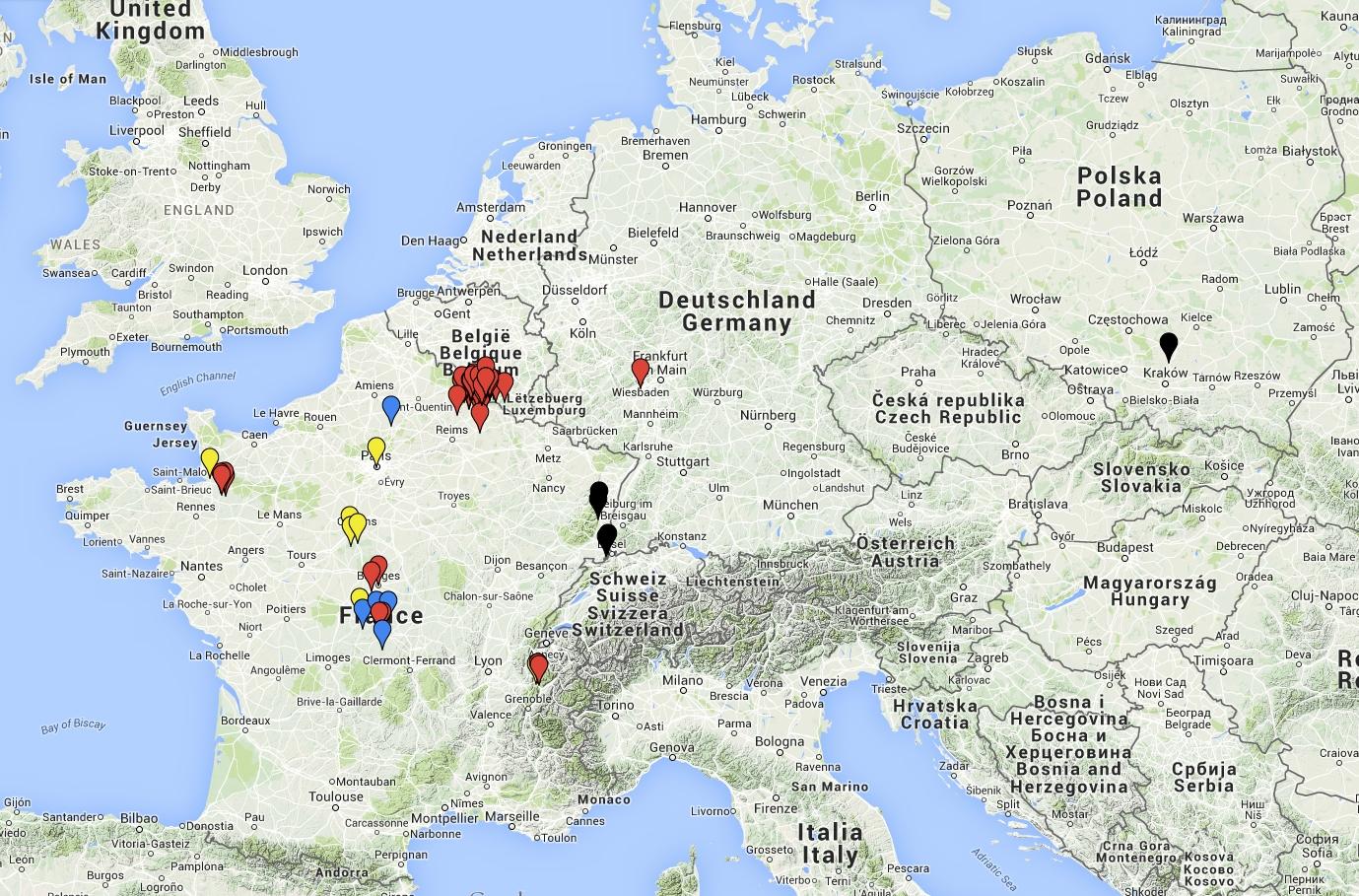 Cartographie d'un français de souche