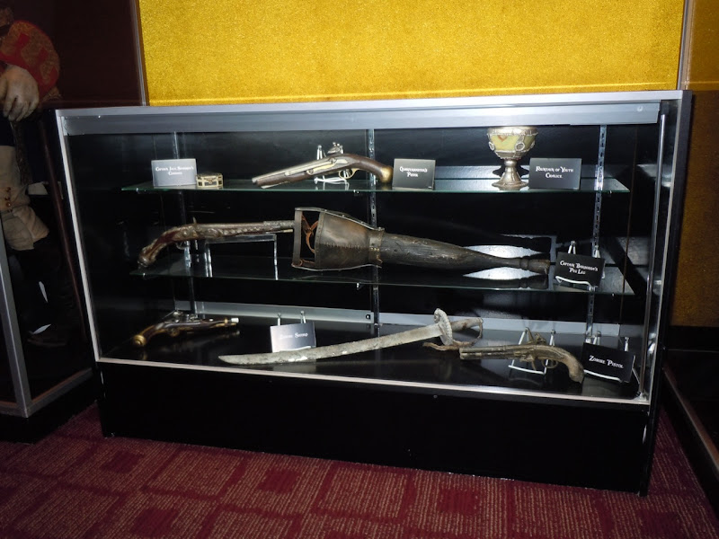 Pirates of the Caribbean On Stranger Tides movie props
