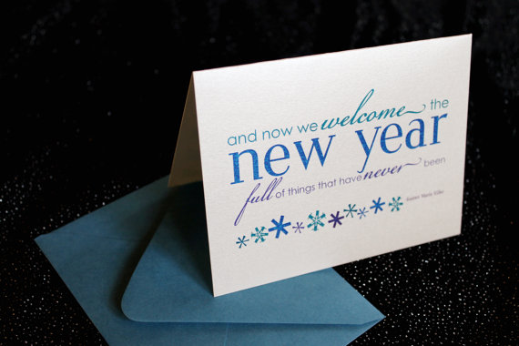 New Year Card Design
