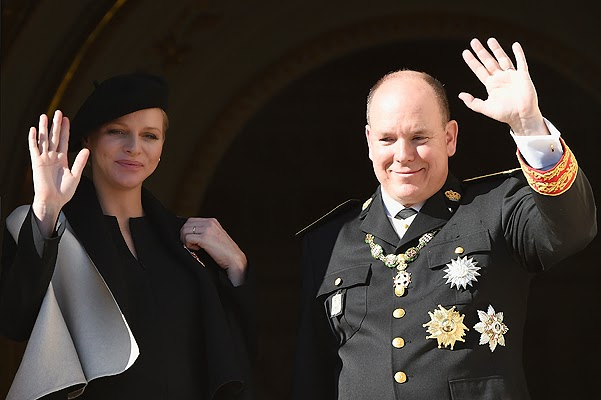 Princess Charlene gave birth to twins