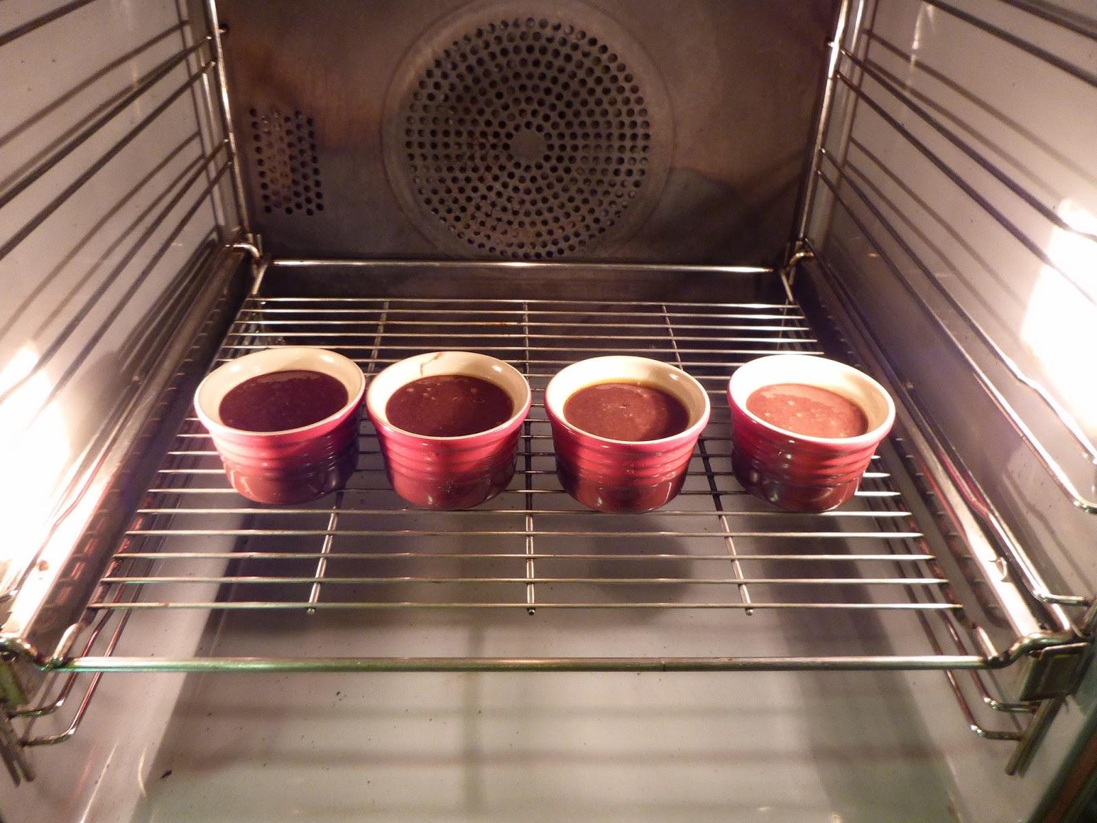 Molten Chocolate Cake o Volcán de chocolate