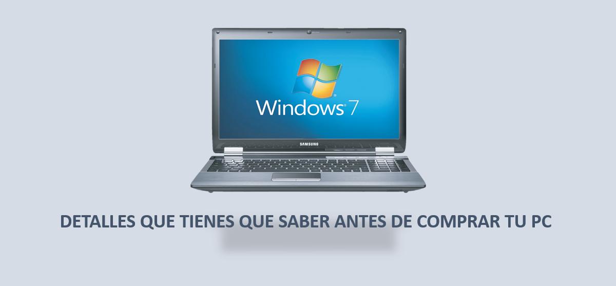 Consejos: Si vas a comprar un Pc con Windows 7, 8 y 8.1, tienes un año para hacerlo!