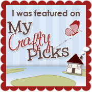 I was featured as a Crafty Pick!
