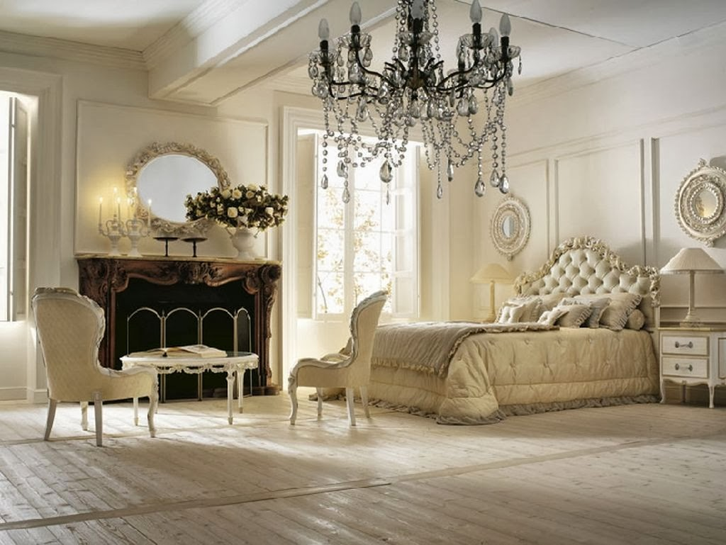 Luxury bedroom decorating ideas for Romantic bedroom design