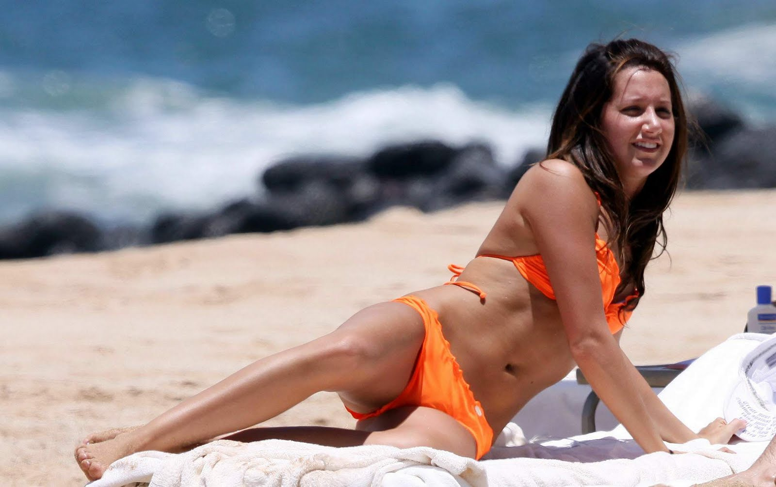 Men have ashley tisdale nude orange bikini