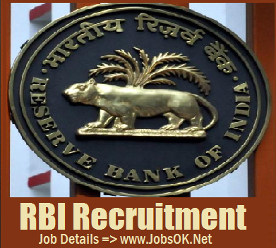 RBI Recruitment, Bank Jobs, Government Jobs Opening in RBI