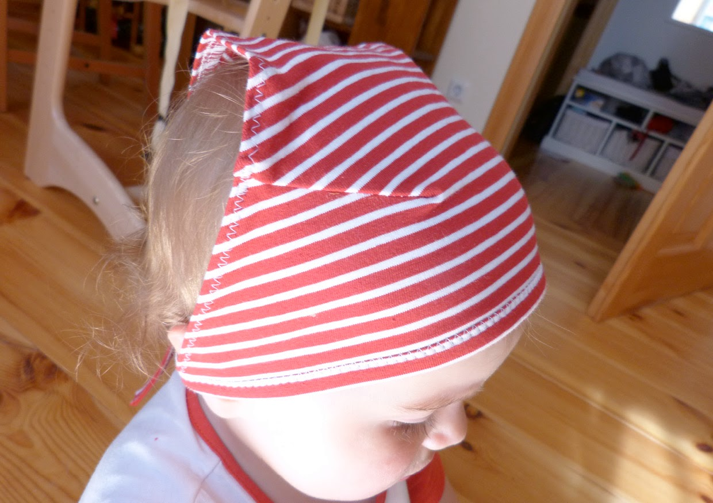 Kopftuch getragen an klein Käthe