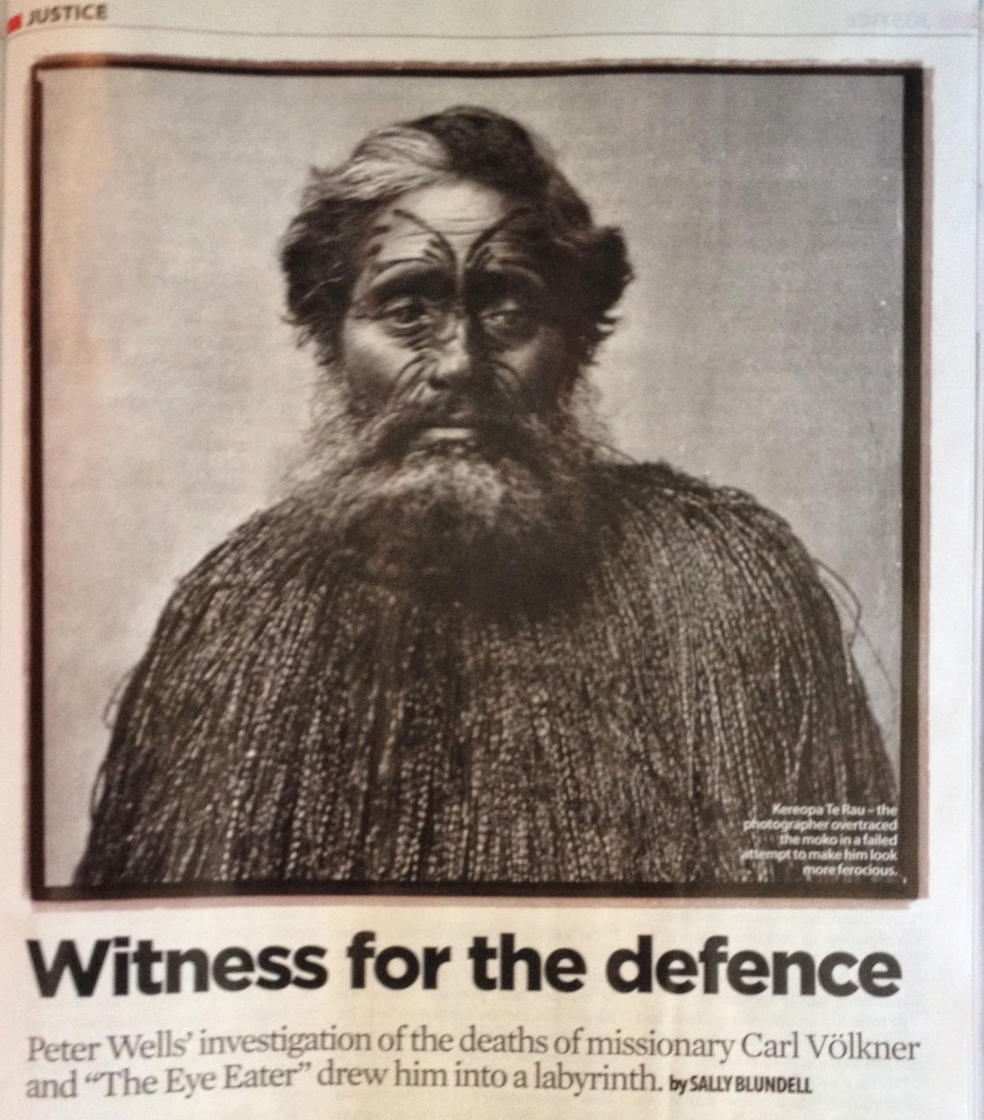 peterwellsblog witness for the defence