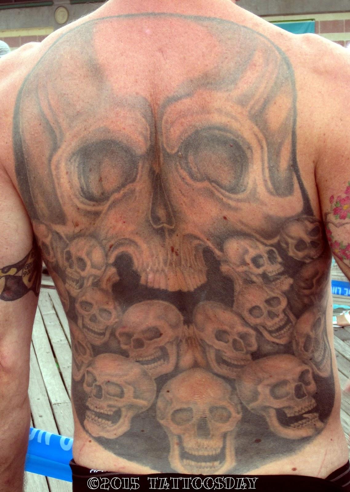 New Jersey Tattoo Back